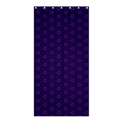 Dark Tech Fruit Pattern Shower Curtain 36  X 72  (stall)