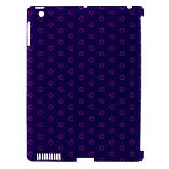 Dark Tech Fruit Pattern Apple Ipad 3/4 Hardshell Case (compatible With Smart Cover) by jumpercat