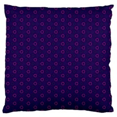 Dark Tech Fruit Pattern Large Flano Cushion Case (one Side)