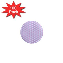 Light Tech Fruit Pattern 1  Mini Magnets (100 Pack)