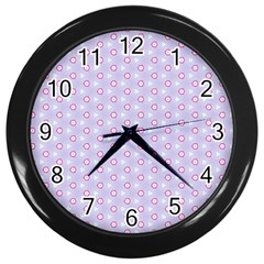 Light Tech Fruit Pattern Wall Clocks (black)