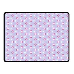 Light Tech Fruit Pattern Fleece Blanket (small)