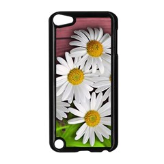 Flowers Flower Background Design Apple Ipod Touch 5 Case (black)