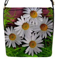 Flowers Flower Background Design Flap Messenger Bag (s)
