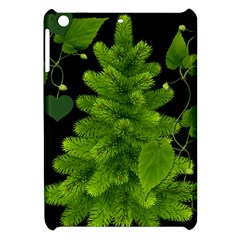 Decoration Green Black Background Apple Ipad Mini Hardshell Case