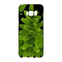 Decoration Green Black Background Samsung Galaxy S8 Hardshell Case