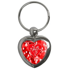 Love Romantic Greeting Celebration Key Chains (heart)