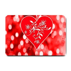 Love Romantic Greeting Celebration Small Doormat