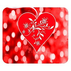Love Romantic Greeting Celebration Double Sided Flano Blanket (small)