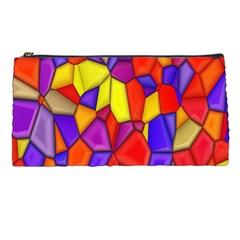 Mosaic Tiles Pattern Texture Pencil Cases