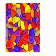 Mosaic Tiles Pattern Texture Large Garden Flag (two Sides)