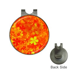 Background Reason Pattern Design Hat Clips With Golf Markers