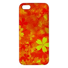 Background Reason Pattern Design Apple Iphone 5 Premium Hardshell Case