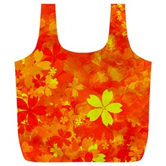 Background Reason Pattern Design Full Print Recycle Bags (l)