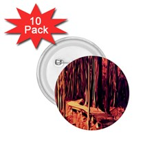 Forest Autumn Trees Trail Road 1 75  Buttons (10 Pack)