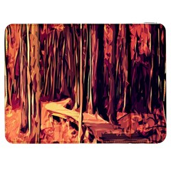Forest Autumn Trees Trail Road Samsung Galaxy Tab 7  P1000 Flip Case
