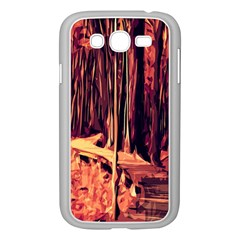 Forest Autumn Trees Trail Road Samsung Galaxy Grand Duos I9082 Case (white) by Sapixe