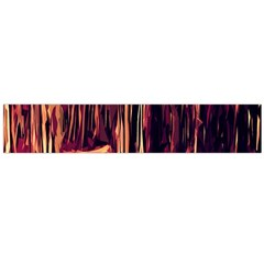 Forest Autumn Trees Trail Road Large Flano Scarf