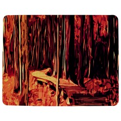 Forest Autumn Trees Trail Road Jigsaw Puzzle Photo Stand (rectangular)