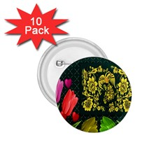 Background Reason Tulips Colors 1 75  Buttons (10 Pack)