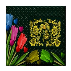 Background Reason Tulips Colors Face Towel
