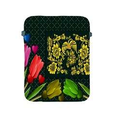 Background Reason Tulips Colors Apple Ipad 2/3/4 Protective Soft Cases