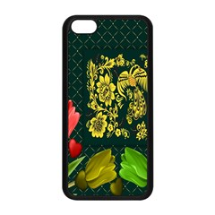 Background Reason Tulips Colors Apple Iphone 5c Seamless Case (black)