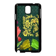 Background Reason Tulips Colors Samsung Galaxy Note 3 Neo Hardshell Case (black)