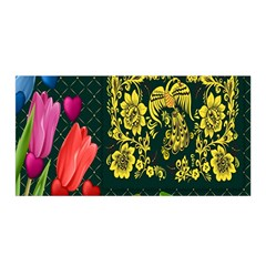 Background Reason Tulips Colors Satin Wrap