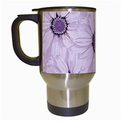 Background Desktop Flowers Lilac Travel Mugs (white)