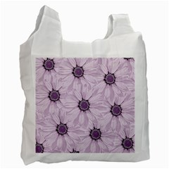 Background Desktop Flowers Lilac Recycle Bag (two Side)