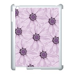 Background Desktop Flowers Lilac Apple Ipad 3/4 Case (white)