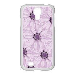 Background Desktop Flowers Lilac Samsung Galaxy S4 I9500/ I9505 Case (white)