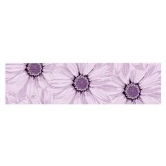 Background Desktop Flowers Lilac Satin Scarf (oblong)