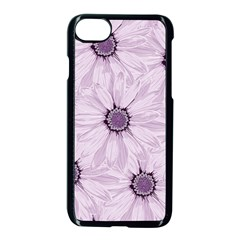 Background Desktop Flowers Lilac Apple Iphone 7 Seamless Case (black)