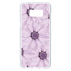 Background Desktop Flowers Lilac Samsung Galaxy S8 Plus White Seamless Case