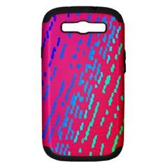 Background Desktop Mosaic Raspberry Samsung Galaxy S Iii Hardshell Case (pc+silicone)