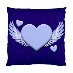 Background Texture Heart Wings Standard Cushion Case (one Side)