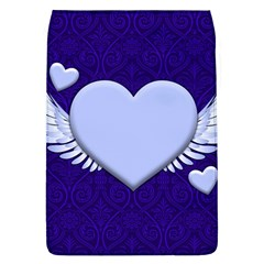 Background Texture Heart Wings Flap Covers (l)  by Sapixe