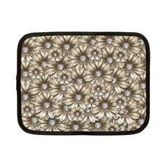 Background Flowers Netbook Case (small)