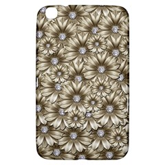 Background Flowers Samsung Galaxy Tab 3 (8 ) T3100 Hardshell Case