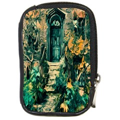 Porch Door Stairs House Compact Camera Cases