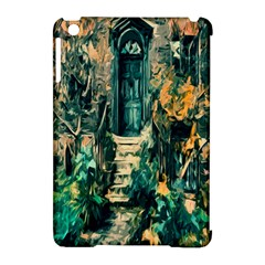 Porch Door Stairs House Apple Ipad Mini Hardshell Case (compatible With Smart Cover)