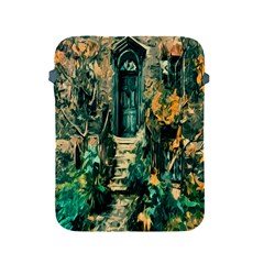 Porch Door Stairs House Apple Ipad 2/3/4 Protective Soft Cases