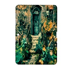 Porch Door Stairs House Samsung Galaxy Tab 2 (10 1 ) P5100 Hardshell Case