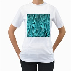 Design Backdrop Abstract Wallpaper Women s T Shirt (white)