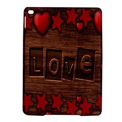 Background Romantic Love Wood Ipad Air 2 Hardshell Cases