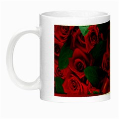 Floral Flower Pattern Art Roses Night Luminous Mugs