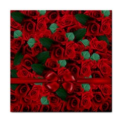 Floral Flower Pattern Art Roses Face Towel