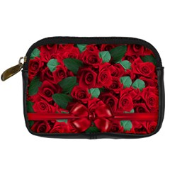 Floral Flower Pattern Art Roses Digital Camera Cases by Sapixe